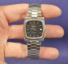 Eterna Herren Armbanduhr / Men Wrist Watch Quarz 80er Design