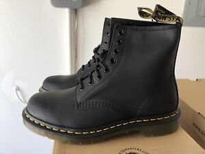 Dr Marten 1460 Greasy Leather Lace Up Boots Size 11