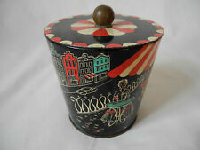 Alte Blechdose 50'er Jahre vintage mid century Old Tin Can