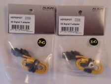 ALIGN T-REX 250 450 500 600 700 3G Signal Y Adapter HEP3GF03 QTY.2 NIP