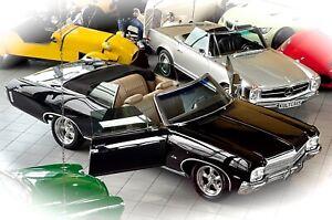 *AUGENWEIDE MIT STYLE* Chevrolet Impala V8 Cabriolet Air Ride im Oldtimer Museum