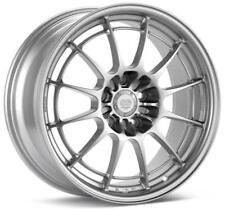 Enkei NT03+M 18x10 5x120 25mm Offset 72.6mm Bore Silver Wheel 365-810-1225SP