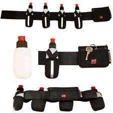 Laufgürtel Jogging Gürtel mit 4 Trinkflaschen und Tasche Trinkgürtel   21oy