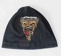 New Celtek Kids Youth Artwork Polyester Beanie Pizza Black