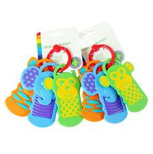 BPA Free Key Chewable Teething Toothbrush Teether Teeth Training For Baby