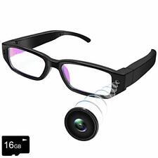 UYIKOO Mini Kamera Brille, 1080P HD Brillenkamera Videokamera Kleine