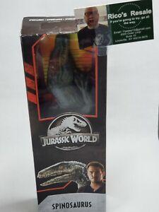 Jurassic World Legacy SPINOSAURUS 12 Inch Action Figure Rare Mattel New Park