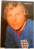 Bobby Moore + Fußball Nationalspieler England + Fan Big Card Edition D98 +