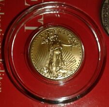 2017 Gold American Eagle 1/10 Oz $5 Bullion Encapsulated Liberty GEM BU Coin