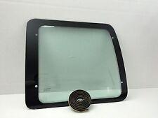 For 92-16 Ford Econoline Van Passenger Side Rear Back Glass Stationary W/Sealer