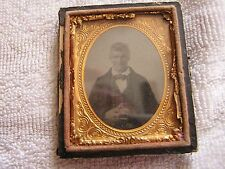 Tin Type Photo Antique Portrait
