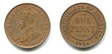 1 Penny Australien 1936 Bronze