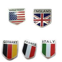1Pc 3D Aluminum National Flag Logo Car Sticker Decal Badge Emblem Accessories CH