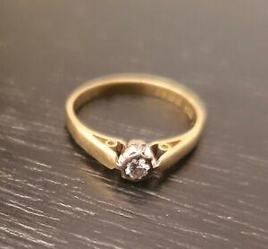 Antique gold ring 18ct