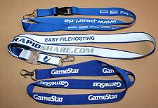 Pearl Rapidshare Rapid Share GameStar Game Star Schlüsselband Lanyard