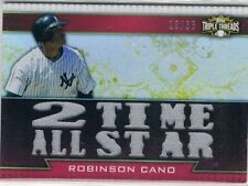 Triple Threads Single Baseball Trading Cards Season 2011