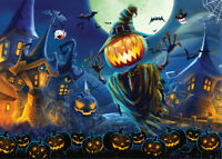 1000 Piece Jigsaw Puzzle Halloween Pumpkin Ghost Puzzles Learning Education Toy