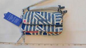 Vera Bradley RFID All in One Crossbody 21941-H38 Geo Medallions small purse NWT