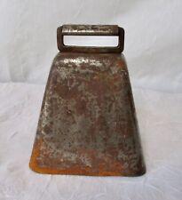 Vintage Metal Cow Bell
