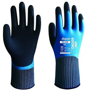 Wonder Grip Aqua 318 Arbeitshandschuhe wasserdicht Handschuhe Montagehandschuhe