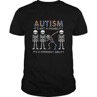 Autism T-Shirt it's not a disability it's a different ability