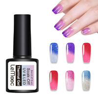 LEMOOC 8ml Nagel Gellack Thermo Color Changing Soak off Nail Art UV Gel Polish
