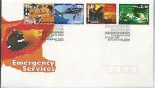 1997 Emergency Services set of 4 Fdi Adelaide 10 July Fancy Postmark