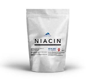 NIACIN Nicotinsäure reines Pulver Vitamin B3 Cholesterin Herz
