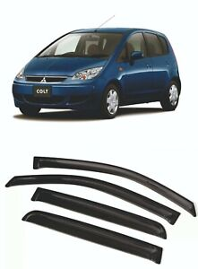 For Mitsubishi Colt Z30 04-12  Window Visor Sun Rain Guard Vent Deflector Shades