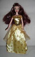 "WALT DISNEY'S SPARKLING PRINCESS BELLE Beauty & the Beast 12"" DOLL 2004 Mattel"