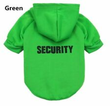 Security Cat Clothes Pet Cat Coats Jacket Hoodies For Dogs Outfit  Pet Clothing