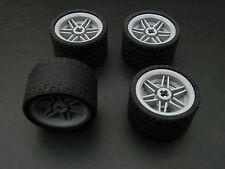 LEGO TECHNIC WHEELS set of 4 Tire 37 x 22 ZR Wheel 30.4 x 20 mm city large tyre