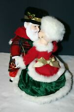 Avon Santa And Mrs Claus Holiday Skate caucasian musical dance