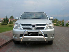 TOYOTA HILUX CHROME NUDGE A-BAR STAINLESS STEEL BULL BAR 2006-2012 W K
