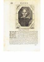 1666 Crasso Ritratto: Gian Vittorio Rossi Giano Nicio Eritreo (Roma 1577–1647)