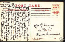 Genealogy Postcard - Family History - Conyers - Hutton Cranswick - Yorks  BH5170