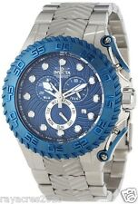 Invicta Men's 12943 Pro Diver Chronograph Blue Textured Dial Stainless Steel