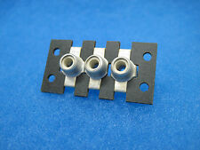 (100) NOS DYNACO 3-Socket RCA Phono Input/Output Jack Strips: P/N 355003