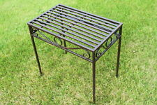 REDUCED -Versailles Style Metal Side Table or Plant Stand- Antique Bronze-Medium