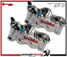 BREMBO RACING GP4-RX PINZE 108 RADIALI FRENO NICHELATE