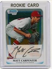 Matt Carpenter 2011 Bowman Chrome Rookie Card QTY