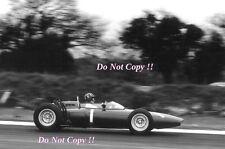 Graham Hill BRM P57 Winner Glover Trophy Goodwood 1962 Photograph