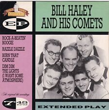 "Bill Haley ""Razzle Dazzle"" ""Burn That Candle"" + 2 British 1990 EP Old Gold 7702"