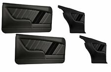 Sport R Molded Door & Quarter Panel Set - Black - for 1968 Camaro by TMI