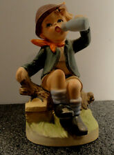 Vintage Erich Stauffer Boy with Drink #8420 Figurine Japan