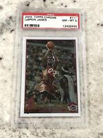 🔥 2003 2004 03-04 Topps Chrome Lebron James #111 ROOKIE RC PSA 8 Basketball 🏀