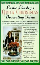 Leslie Linsley's Quick Christmas Decorating Ideas-ExLibrary