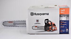Husqvarna 545 Mark II 20 inch bar 50.1cc Gas Powered Professional Chainsaw
