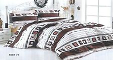 SUPER BED LINEN COTTON-MODERN YOUTHFUL KING SIZE/BEDDING SET/ COTTON SATEEN