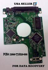 WD Scorpio WD64000BPVT, PCB BOARD 2060-771820-000 Rev.P1, SATA 2.5 640GB